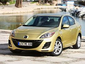 Mazda 3 na �esk�m trhu: Poprv� pod 300.000,- K�