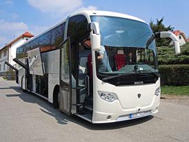 Scania OmniExpress K 400 - Flexibilní přeprava