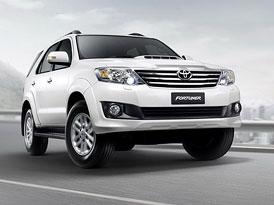 Toyota Fortuner: Modernizace SUV pro Asii