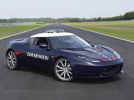 Lotus Evora S per Carabinieri: Brit pro italskou policii