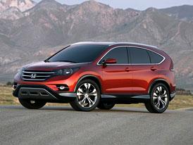 Honda CR-V Concept: První obrázek budoucí generace