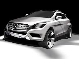 Mercedes-Benz MLC: Konkurent X6 má přijít v roce 2015