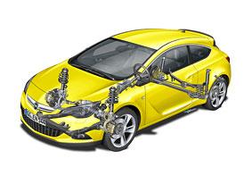 Opel Astra GTC: Nový podvozek pro třídveřovou verzi