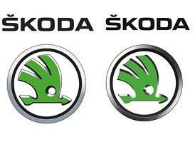 Škoda Auto: První facelift nového loga