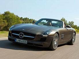 Video: Mercedes-Benz SLS AMG Roadster – Ve společnosti kupé
