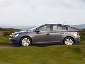 Chevrolet Cruze hatchback: České ceny začínají na 274.900,- Kč