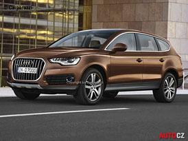 Nástupce Audi Q7 shodí 350 kg