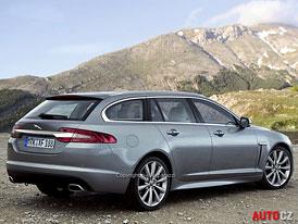 Jaguar XF Sportbrake: Velké kombi přijede do Ženevy 2012