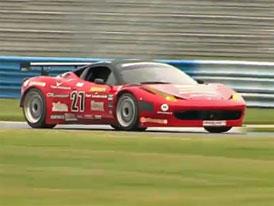 Video: Ferrari 458 Italia Grand Am - Testy na okruhu Daytona
