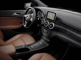 Nový Mercedes-Benz B: Sportovní interiér pro rodinné MPV