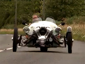 Morgan 3 Wheeler: Videotest Fifth Gearu