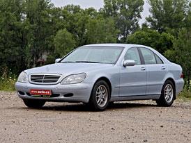 Retrotest: Mercedes-Benz S 320 CDI (W220) - Mot�lek