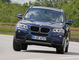 BMW X3 (2012): Nové motory xDrive20i a xDrive35d