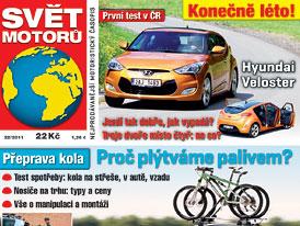 Svět motorů 32/2011: První test - Hyundai Veloster