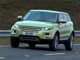 Video: Range Rover Evoque – Jízda s pětidveřovou verzí