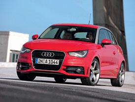 Audi A1 1,4 TFSI (136 kW), 2,0 TDI (105 kW) na českém trhu
