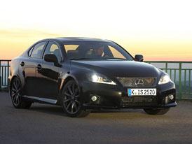 Lexus IS-F 2012: Facelift s upraveným podvozkem