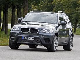 BMW X5 a X6 (2012): xDrive30d Euro 6 se spotřebou 7,5 l/100 km