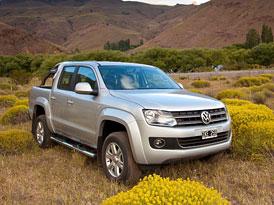 VW Amarok: Výroba pickupu s motorem 2,0 TSI (118 kW) zahájena