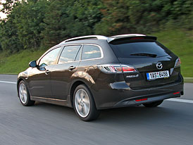 Dlouhodob� test: Mazda 6 2,2 MZR-CD Wagon � Na cest�ch po Evrop�