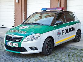 Slovensko pozastavilo nákup Fabií pro policii, zkoumá tendr