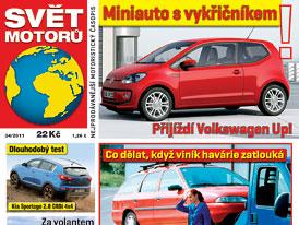 Svět motorů 34/2011: Test spotřeby - Mercedesy S 250 CDI a 2x 320 CDI proti Fabii 1.2 HTP
