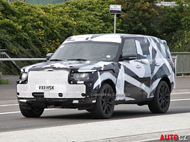 Spy Photos: Range Rover (2013) – Čtvrtá generace