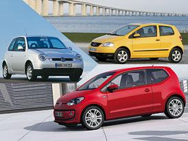 Volkswagen Lupo vs. Fox vs. Up! – Souboj odlišností