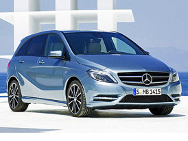Mercedes-Benz B: Exteriér prozrazen