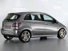 Mercedes-Benz třídy B: zatím jen jako vize
