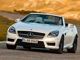 Mercedes-Benz SLK 55 AMG: Nečekaná atmosféra (video)