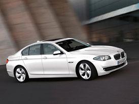 BMW 5: Podrobná data nových čtyřválců v 520i, 528i, 525d