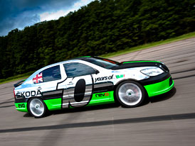 Rychlá Škoda Octavia: Napodruhé 365 km/h!