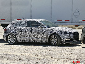 Spy Photos: Audi A3 - Luxusní Golf potřetí