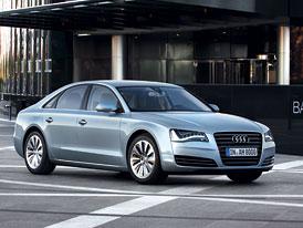 Audi A8 Hybrid: 2,0 TFSI v roli úsporné motorizace