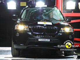 Euro NCAP 2011: BMW X3 – Pět hvězd a zase ti chodci…