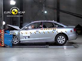 Euro NCAP 2011: Audi A6 – Pět hvězd, ale jen těsně mezi nejlepšími