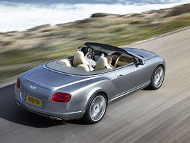 Bentley Continental GTC (2012): Další broušení šperku
