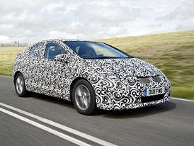 Honda Civic: Nová generace zlepší odhlučnění
