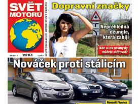 Sv�t motor� 35/2011:Hyundai Elantra 1.6 vs. Renault Fluence 1.6 vs. �koda Octavia Tour 1.6