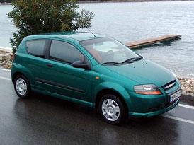 Třídveřový Chevrolet Kalos: první jízdní dojmy