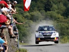 Tým Red Bull Škoda při Německé Rally pronásledovala smůla