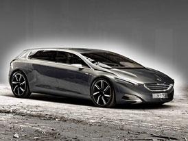 Peugeot HX1 Metamorphosis: Luxusn� hybrid pro �est