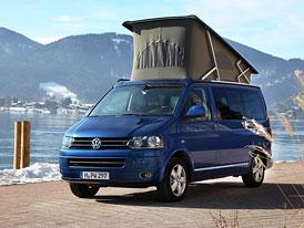 Volkswagen California: Pokračování campingového úspěchu