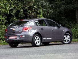 Chevrolet Cruze hatchback: Prvn� kontakt