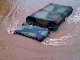 Video po hurikánu Irene: Jak se řídí náklaďák pod vodou?