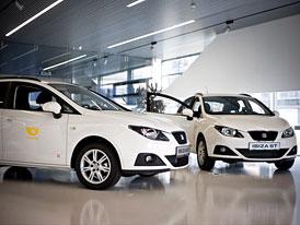 121 SEATů Ibiza ST 1,2 (51 kW) pro Českou poštu