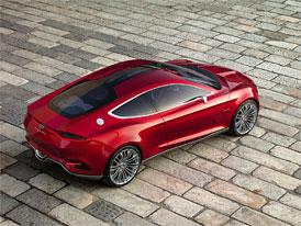 Ford Evos Concept: Čtyřdveřový fastback místo očekávaného kupé