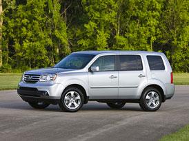 Honda Pilot 2012: Facelift osmimístného SUV pro USA