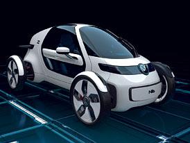 Volkswagen NILS: Elektrický gullwing z Wolfsburgu
